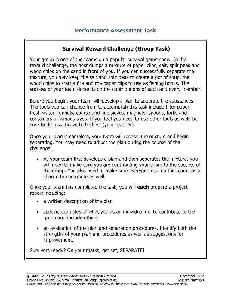 a9679c5697e Survival Reward Challenge (Group Task)